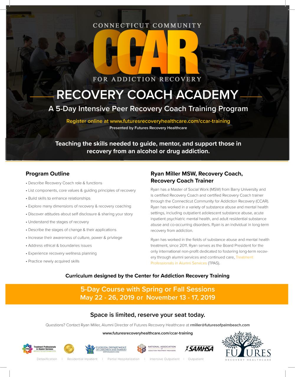 Ccar Recovery Coach Training National Association Of