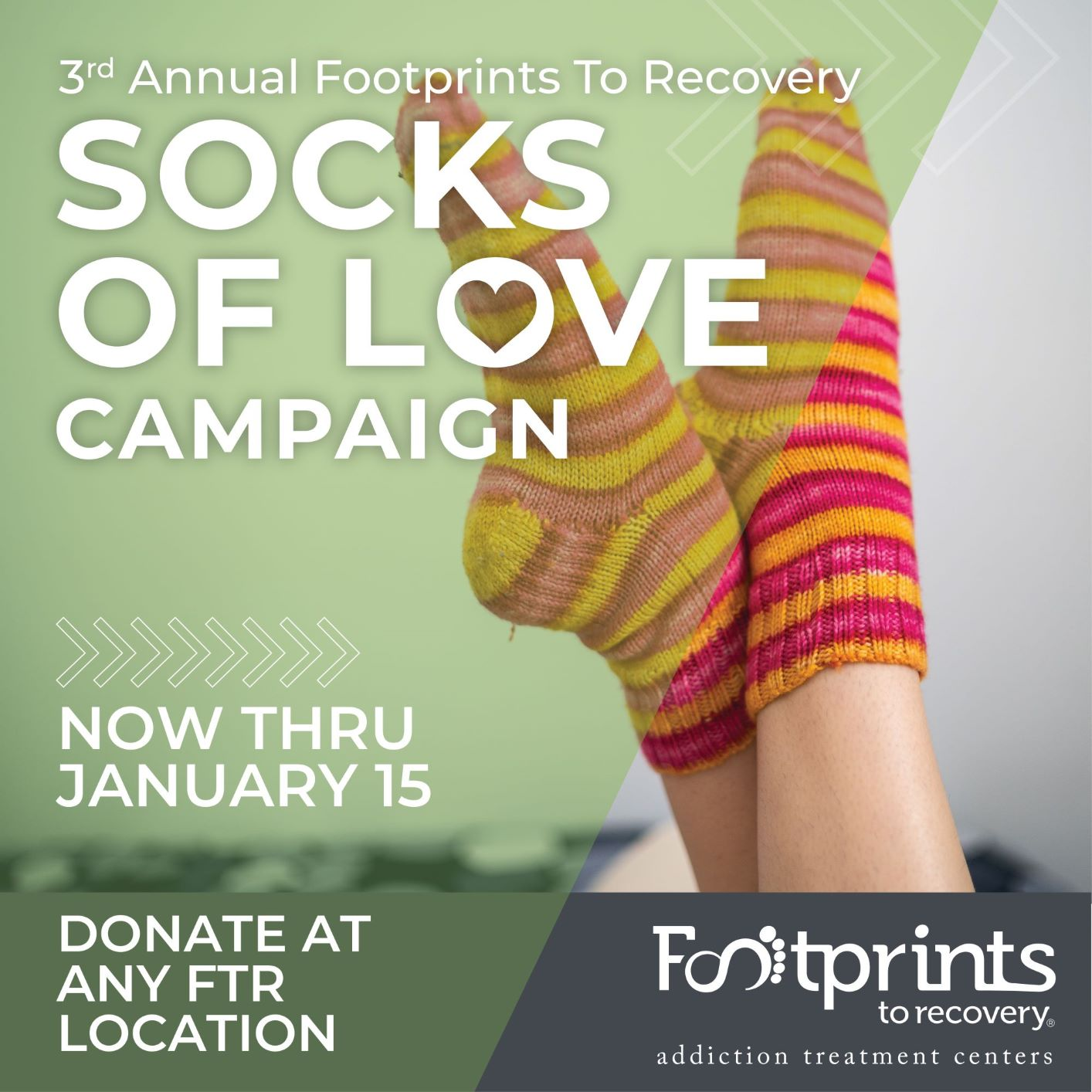 Donate Socks to Help Those Less Fortunate