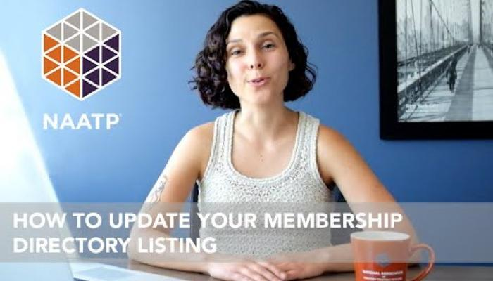 Embedded thumbnail for NAATP Tutorial: How to Update Your Membership Directory Listing