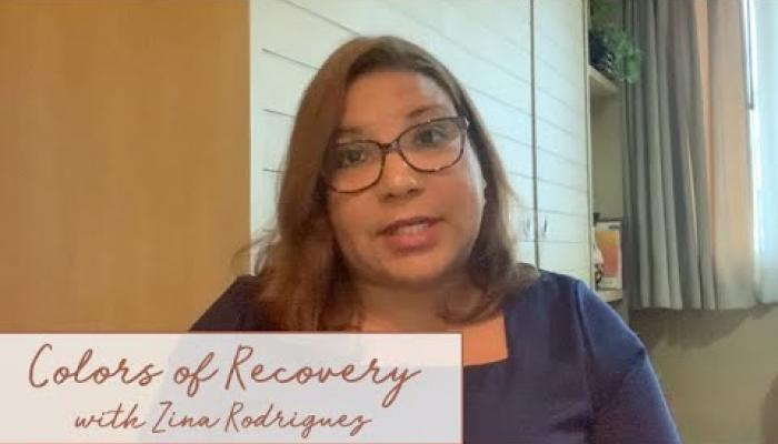 Embedded thumbnail for Colors of Recovery with Zina Rodriguez